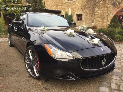 Maserati Quattroporte VI generacji wynajemzklasapl