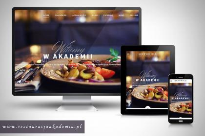 Strony internetowe dla restauracji – mobilne, responsywne.