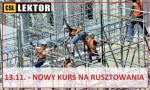 Szkolenia na rusztowania budowlane - 13.11.2018.!!!