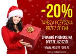 Pozabankowe pożyczki na dowód, nawet na 90 dni! - promocja świąteczna -20%!
