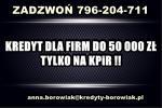 kredyt dla FIRM – 50 000 ZŁ TYLKO NA KPiR ! BEZ ZUS i US !CAŁA POLSKA!